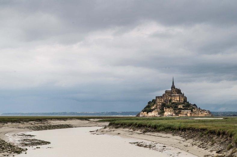Le Mont, Normandie, Bretagne, France, Frankreich, UNESCO World heritage, Welterbe