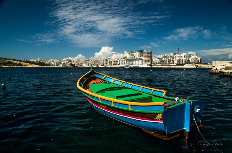 Boot, tradition, boat, Malta, Sliema, Valetta, view, Aussicht